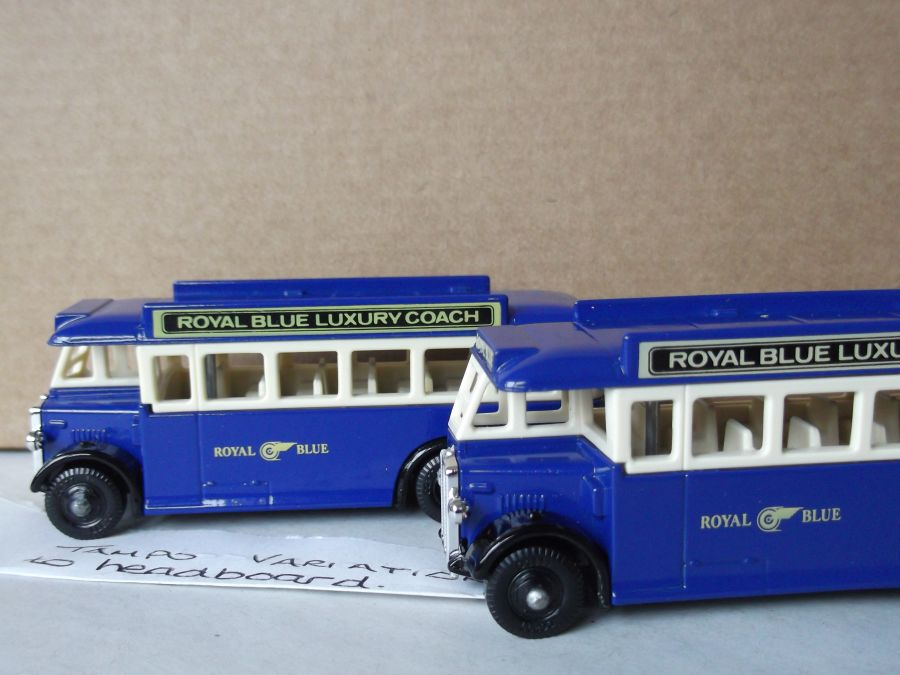 DG17015, AEC Regal Coach, Royal Blue Coach