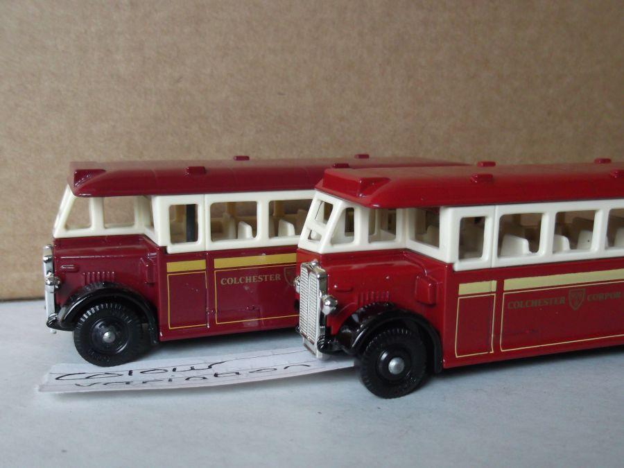 DG17016, AEC Regal Coach, Colchester Corporation