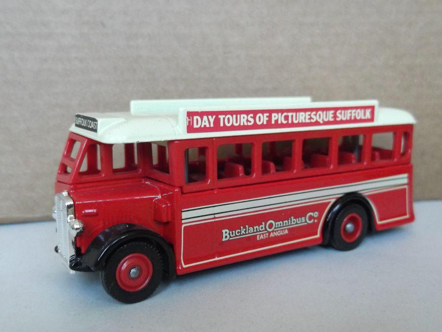 DG17020, AEC Regal Coach, Buckland Bus Company