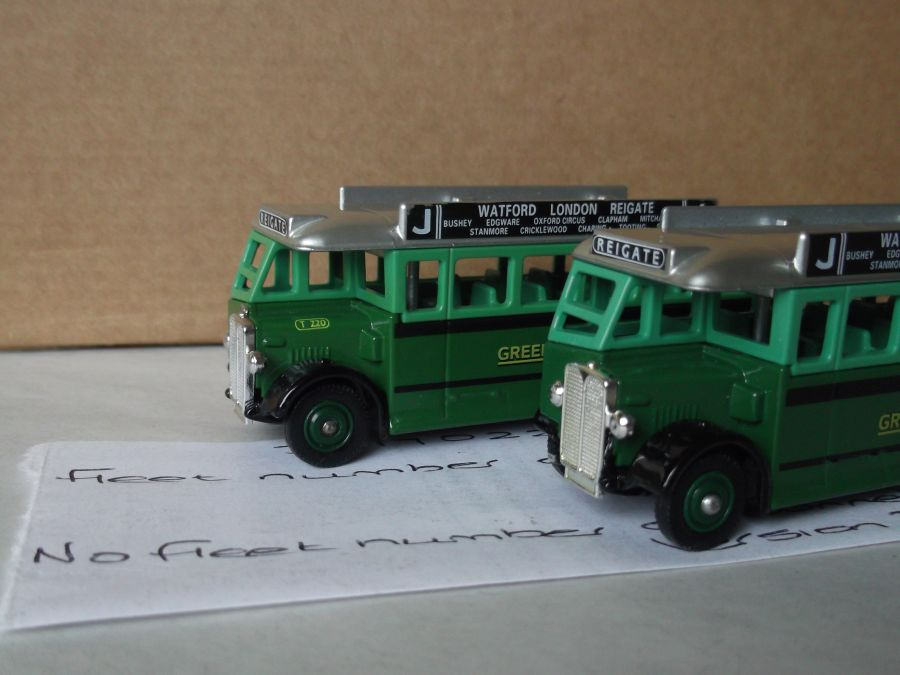 DG17022, AEC Regal Coach, Green Line