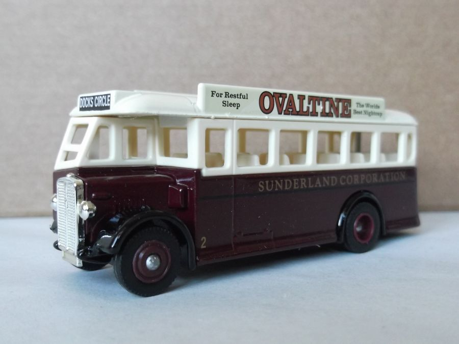 DG17023, AEC Regal Coach, Sunderland Corporation / Ovaltine