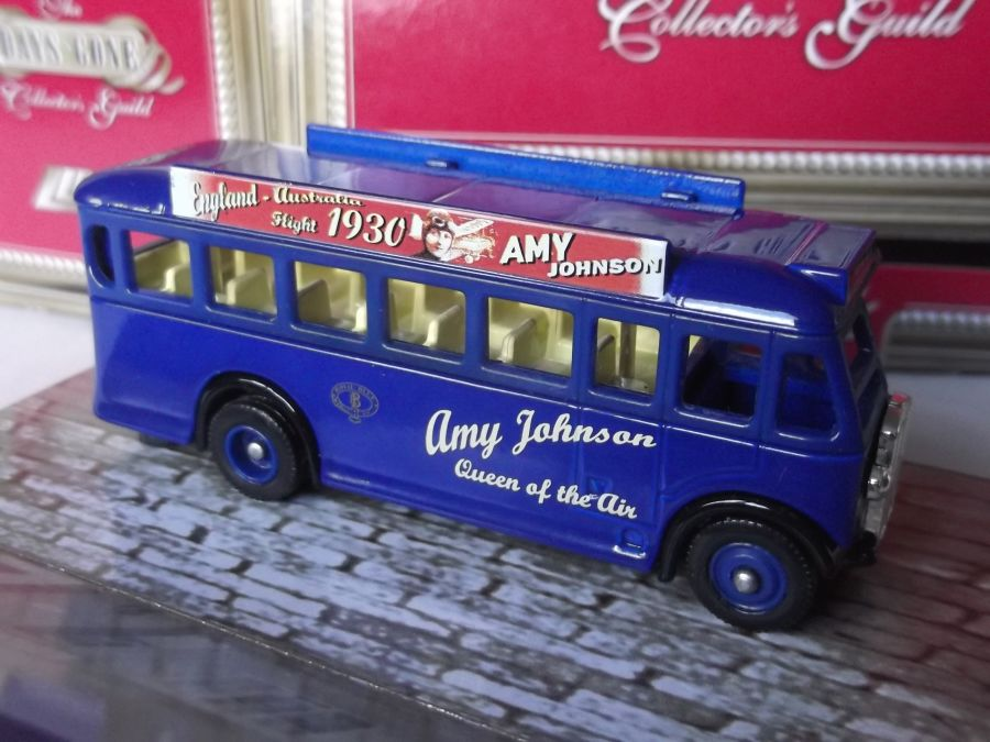 DG17029, AEC Regal Coach, Amy Johnson
