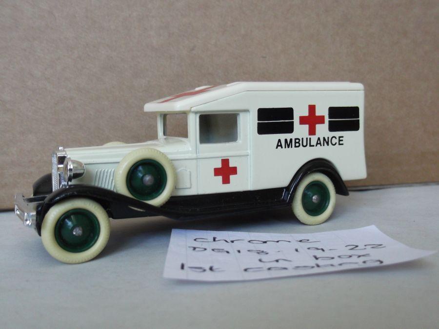 DG18000, Packard, Ambulance