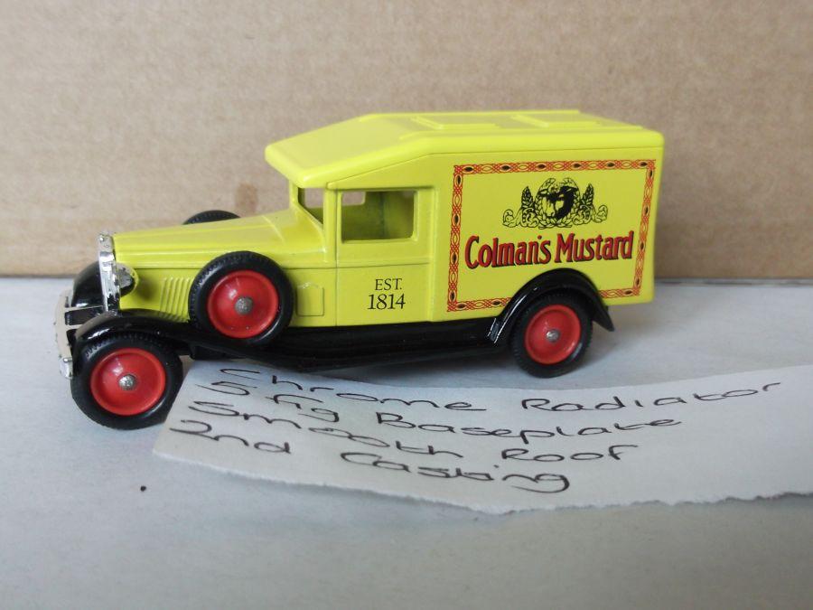 DG18007, Packard, Colmans Mustard