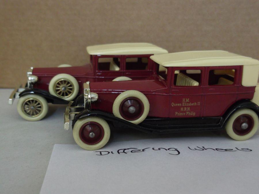 DG19005, Rolls Royce Phantom II Brewster, Ruby Wedding