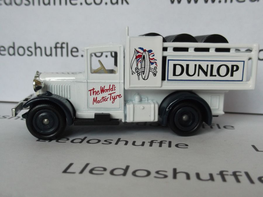 DG20017, Model A Ford Stake Truck, Dunlop Tyres
