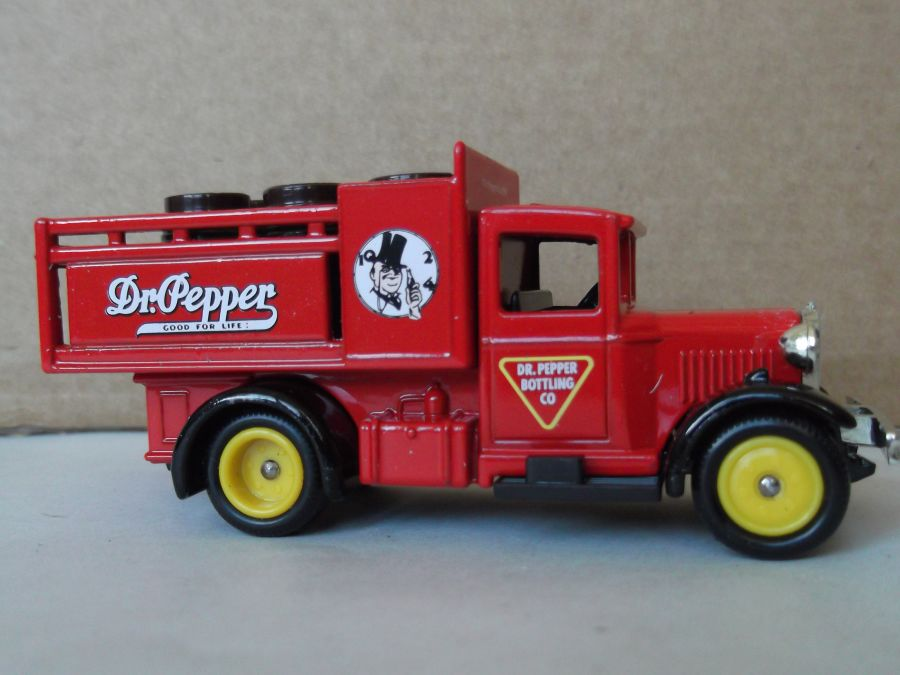 DG20021, Ford Stake Truck, Dr Pepper