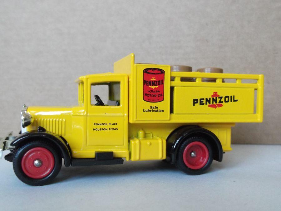DG20022, Ford Stake Truck, Pennzoil