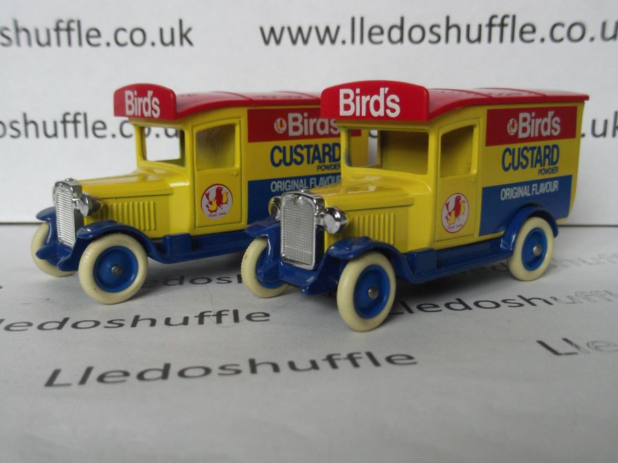 DG21009,Chevrolet Van, Birds Custard Powder