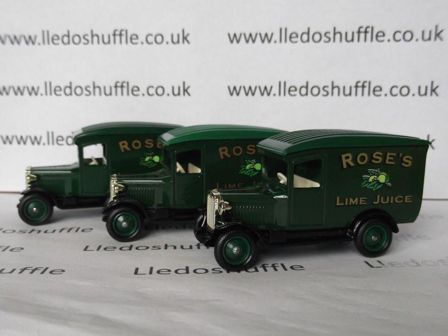 DG21039, Chevrolet Van, Roses Lime Juice