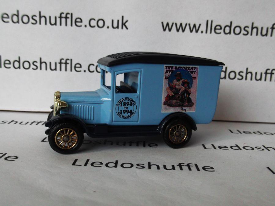 DG21043, Chevrolet Van, Norman Rockwell, The Saturday Evening Post