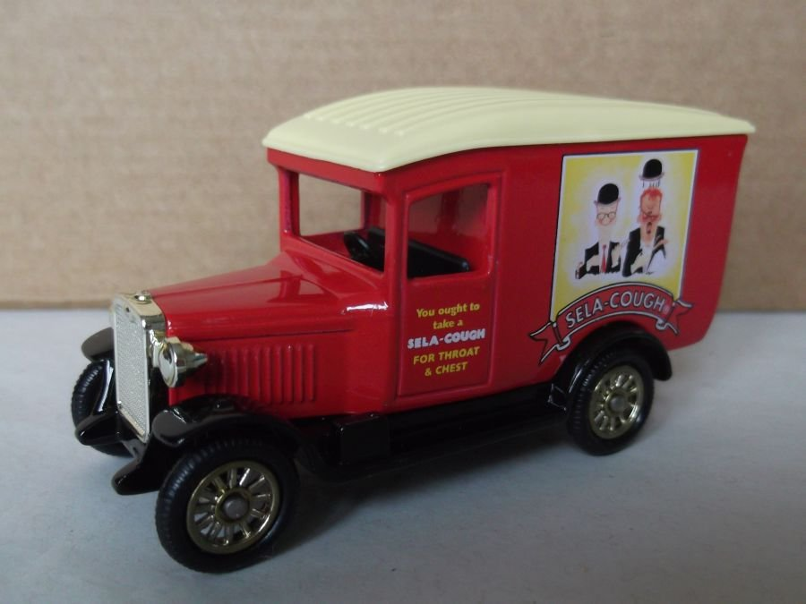 DG21056, Chevrolet Van, Sela Cough Sweets