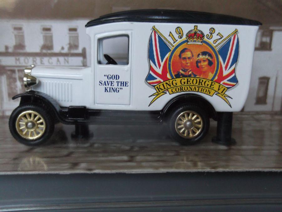 DG21058, Chevrolet Van, The Coronation of King George VI