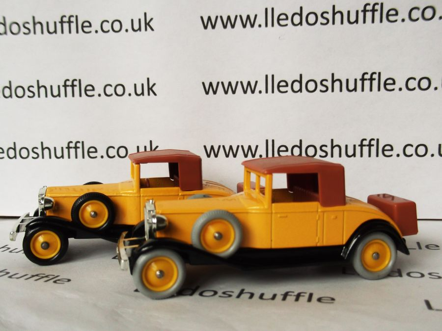 DG24000, Rolls Royce Playboy Brewster, Yellow and Tan