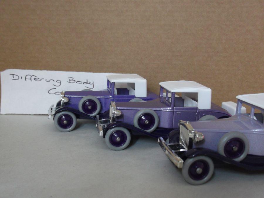 DG24001b, Rolls Royce Playboy Brewster, Dark Lilac