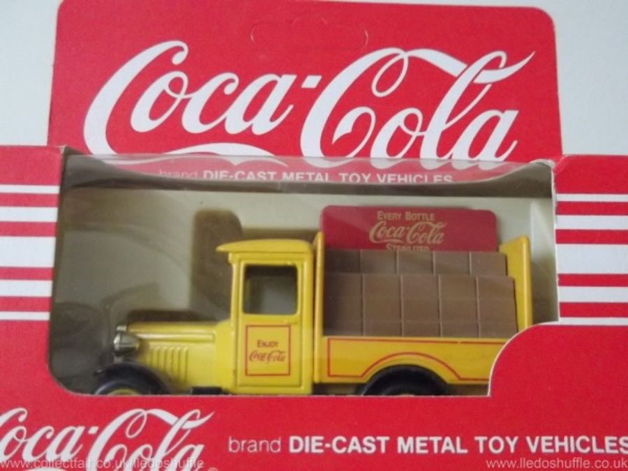 DG26002, Chevrolet Delivery Vehicle, Coca Cola