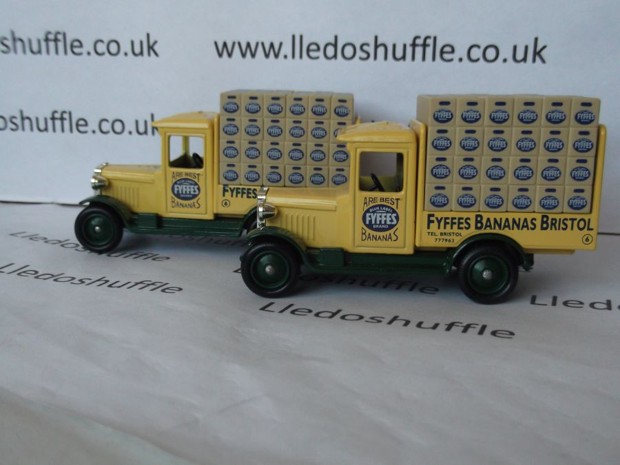 DG26011, Chevrolet Delivery Vehicle, Fyffes Bananas