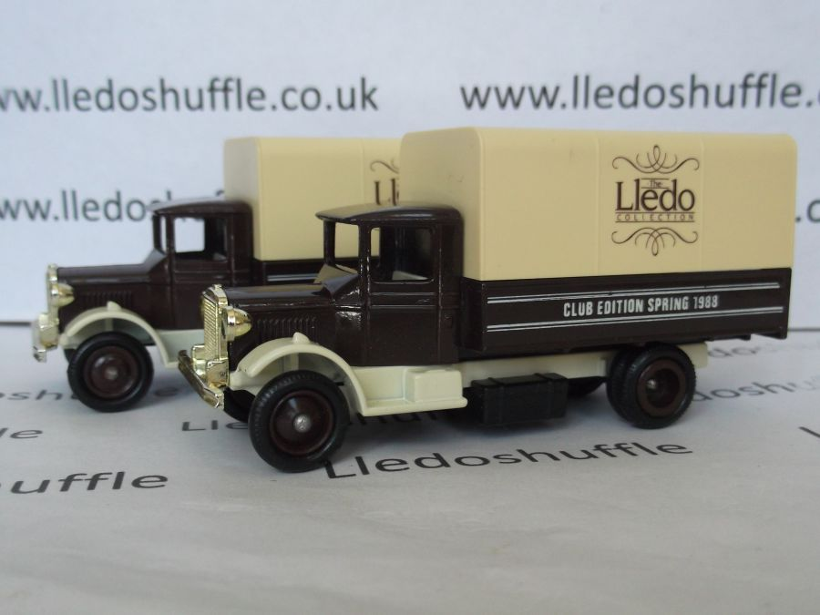 DG28002, Mack Canvas Back Truck, Club Edition Spring 1988