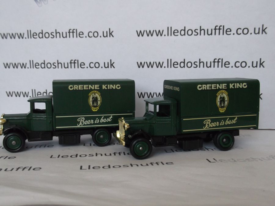 DG28010, Mack Canvas Back Truck, Greene King