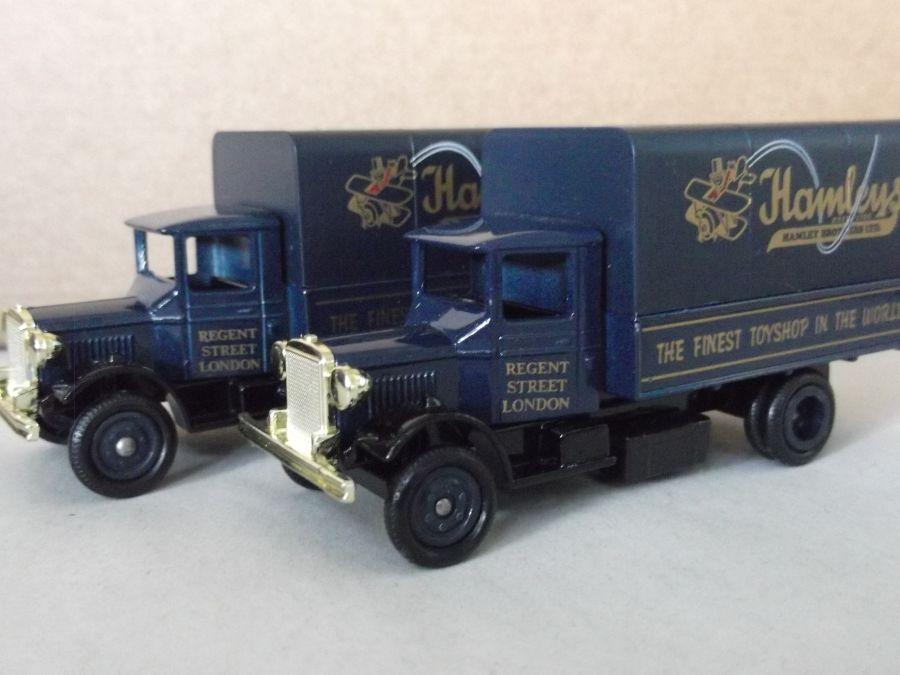 DG28013, Mack Canvas Back Truck, Hamleys