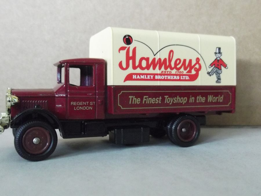 DG28021, Mack Canvas Back Truck, Hamleys