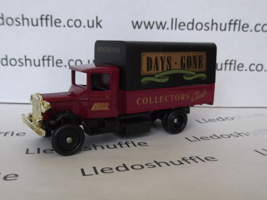 DG28024, Mack Canvas Back Truck, Collectors Club Winter 1991/92