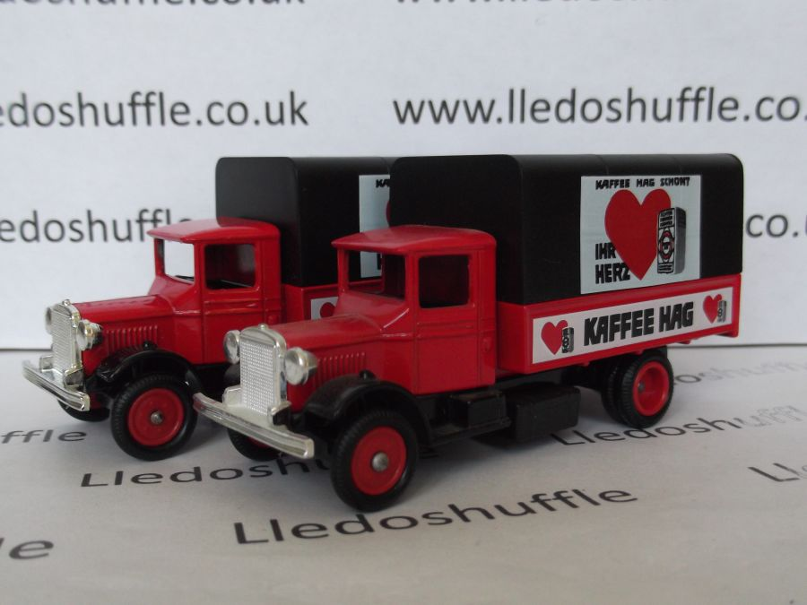 DG28029, Mack Canvas Back Truck, Kaffee Hag