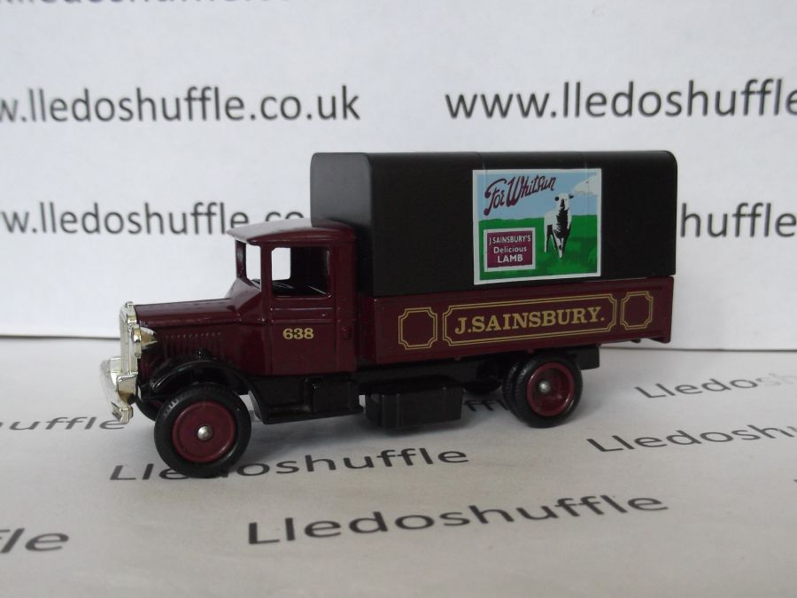 DG28032, Mack Canvas Back Truck, Sainsburys Lamb
