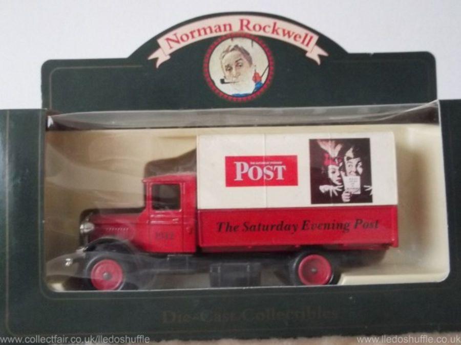 DG28036, Mack Canvas Back Truck, Norman Rockwell