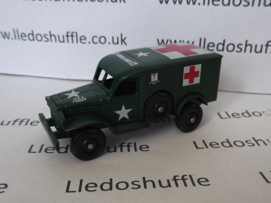 DG29000, Dodge 4x4, US Army Field Ambulance