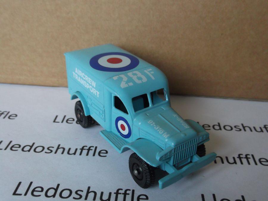 DG29001, Dodge 4x4, RAF Aircrew Transport