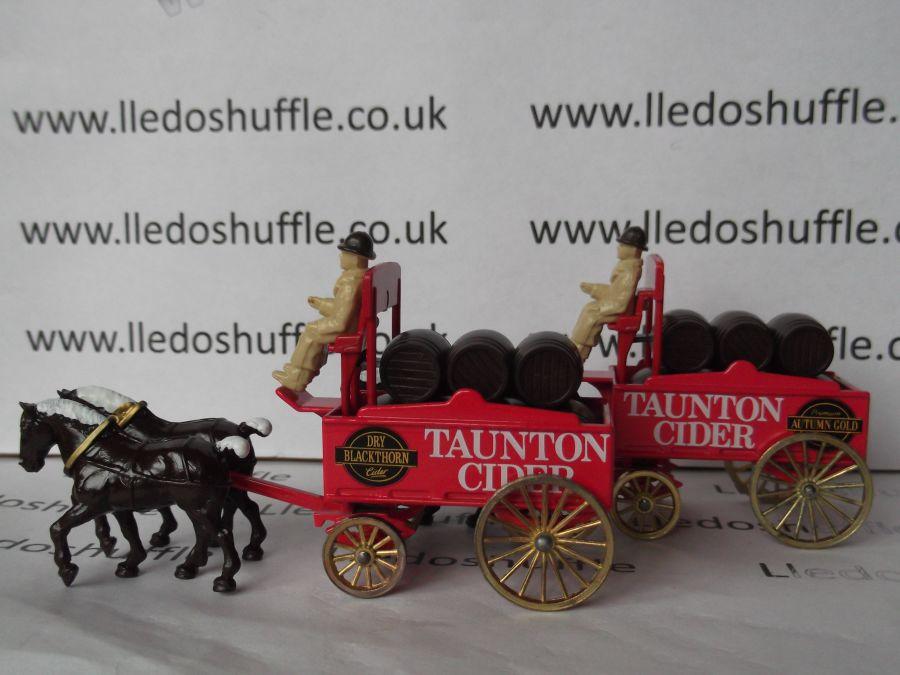 DG31002, Horse Drawn Brewers Dray, Taunton Cider