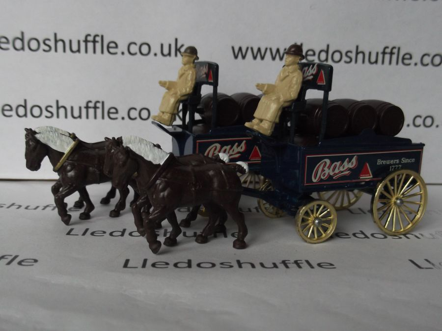 DG31007, Horse Drawn Brewers Dray, Bass Ales
