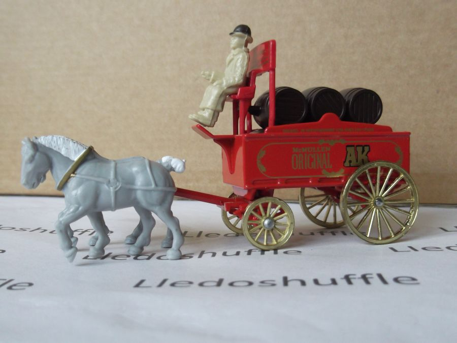DG31010, Horse Drawn Brewers Dray, McMullen AK