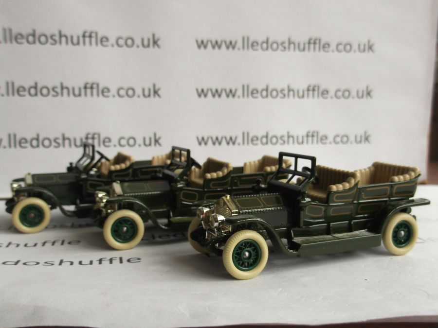 DG32001, Rolls Royce Silver Ghost, Green with Coach Lines