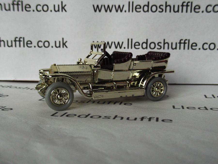 DG32003, Rolls Royce Silver Ghost, Gold, 1990 DG Collector model