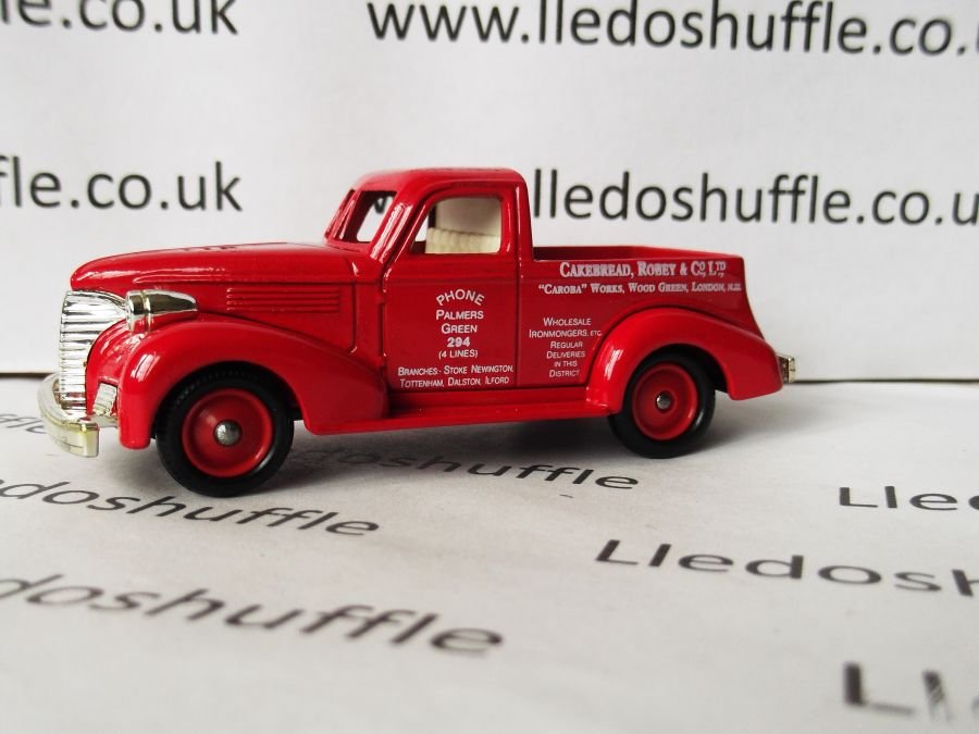 DG36001, Chevy Pick-Up Truck, Cakebread, Robey & Co Ltd