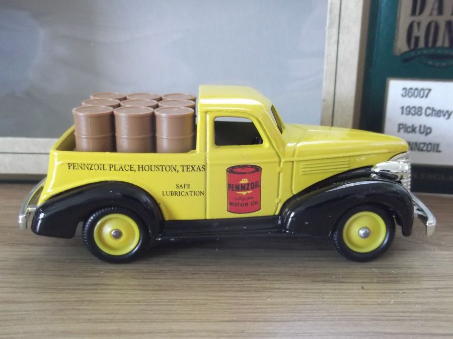 DG36007, Chevy Pick-Up Truck, Pennzoil