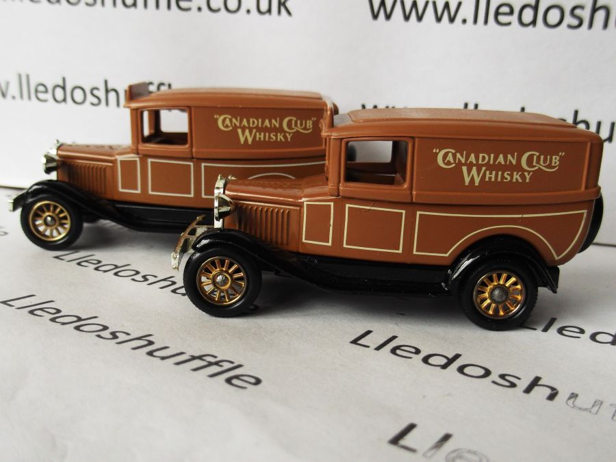 DG37000, Model A Ford Panel Van, Canadian Club Whisky