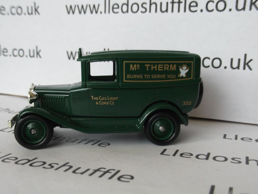 DG37001, Model A Ford Panel Van, Mr Therm