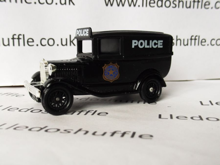 DG37002, Model A Ford Panel Van, Chief of Police USA