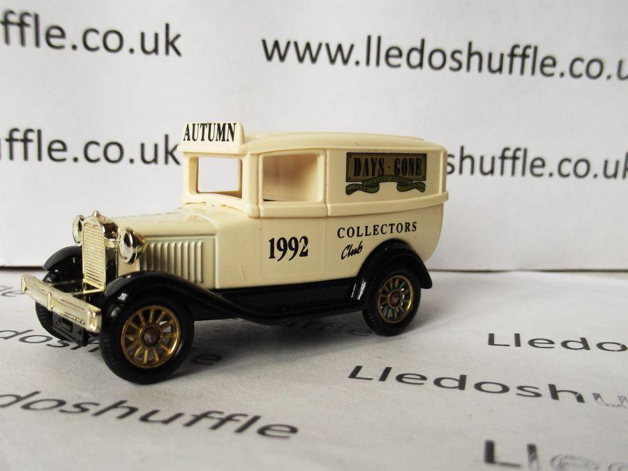 DG37003, Model A Ford Panel Van, Collectors Club, Autumn 1992