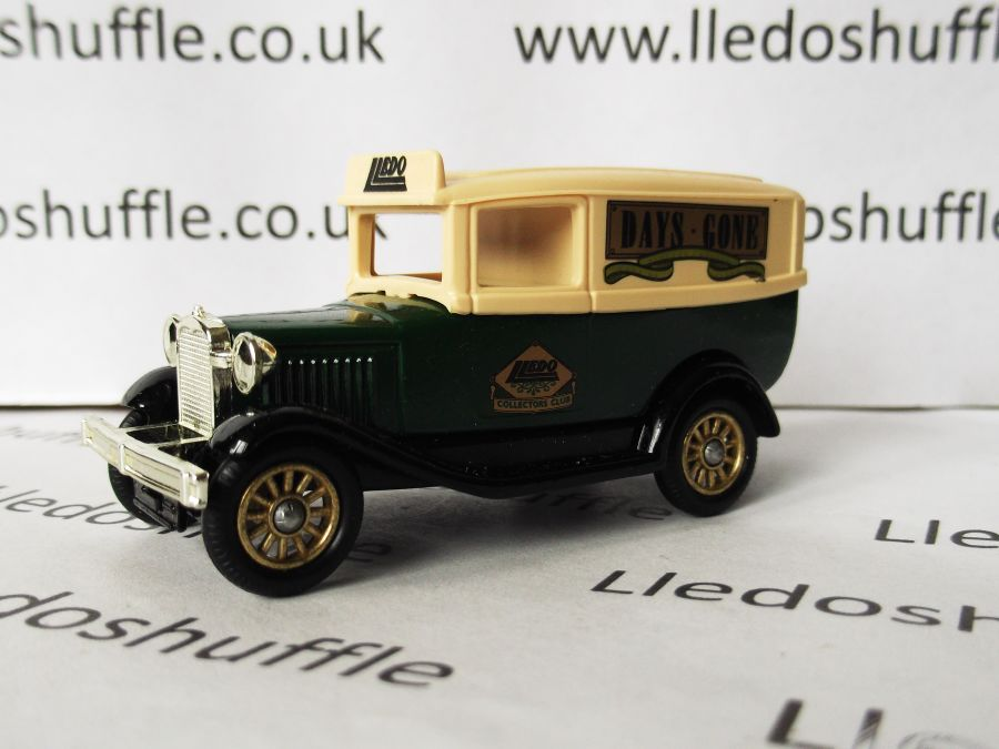 DG37004, Model A Ford Panel Van, Lledo Collectors Club