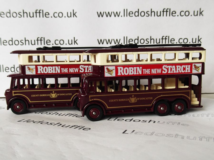 DG41000, Karrier E6 Trolley Bus, Doncaster / Robin Starch