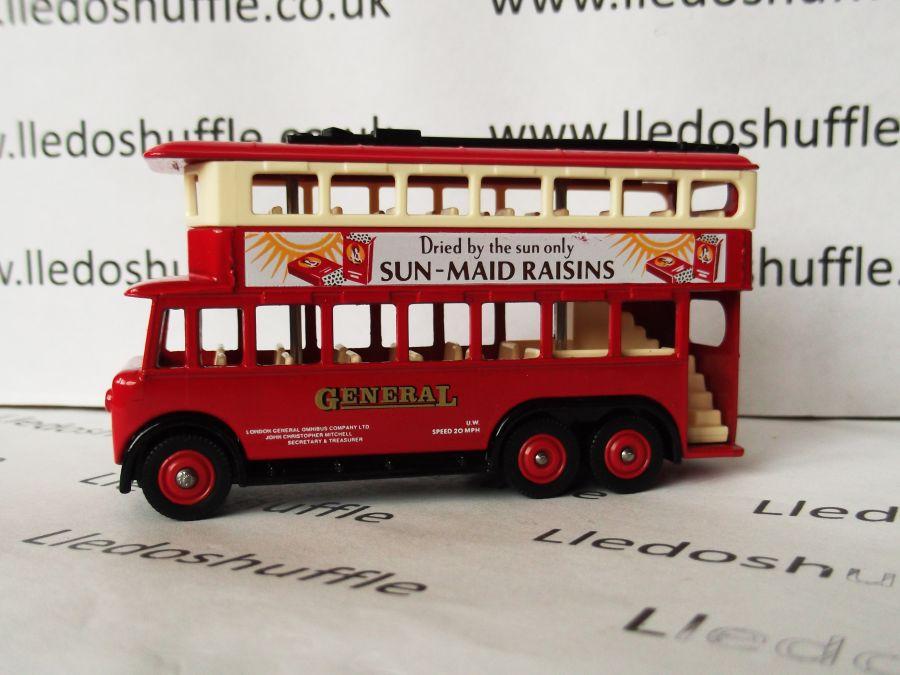 DG41009, Karrier E6 Trolley Bus, General / Sun Maid Raisins