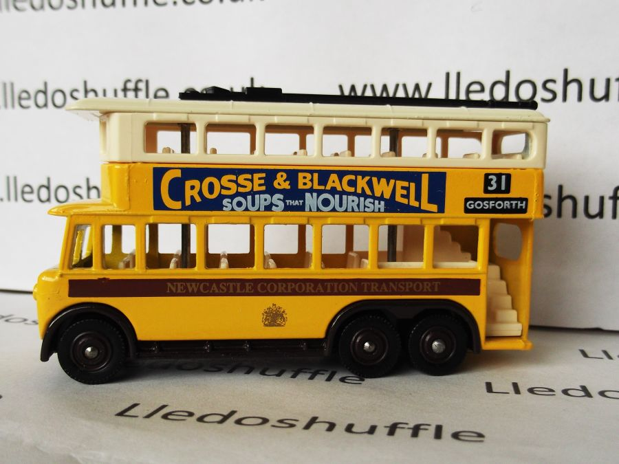 DG41010, Karrier E6 Trolley Bus, Newcastle Corporation / Crosse & Blackwell