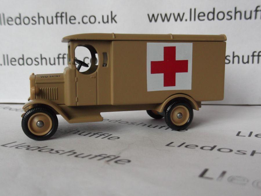 DG43008, Morris Van, 8th Army