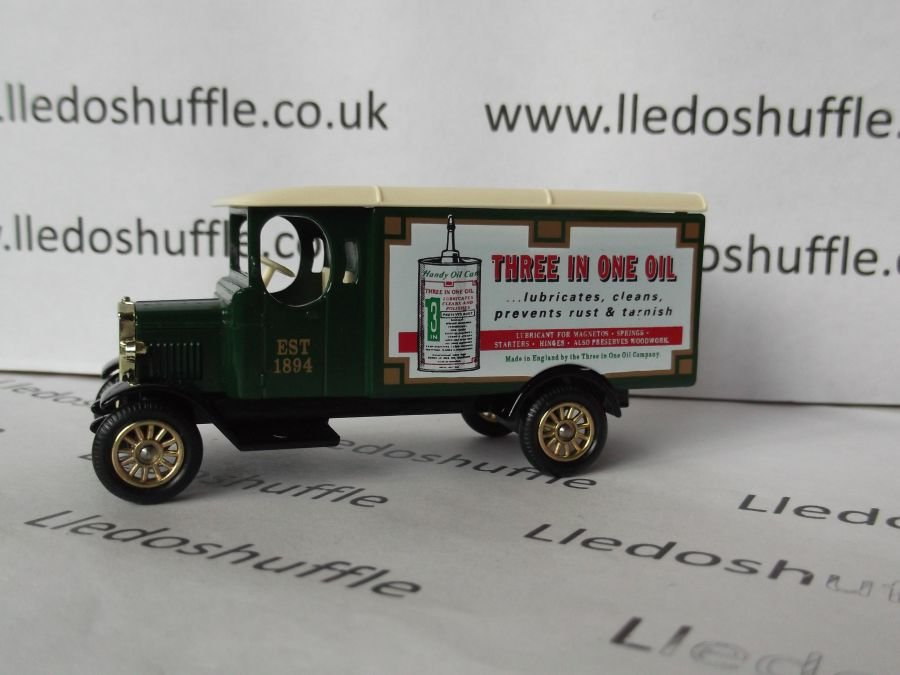 DG43022, Morris Van, Three in One Oil