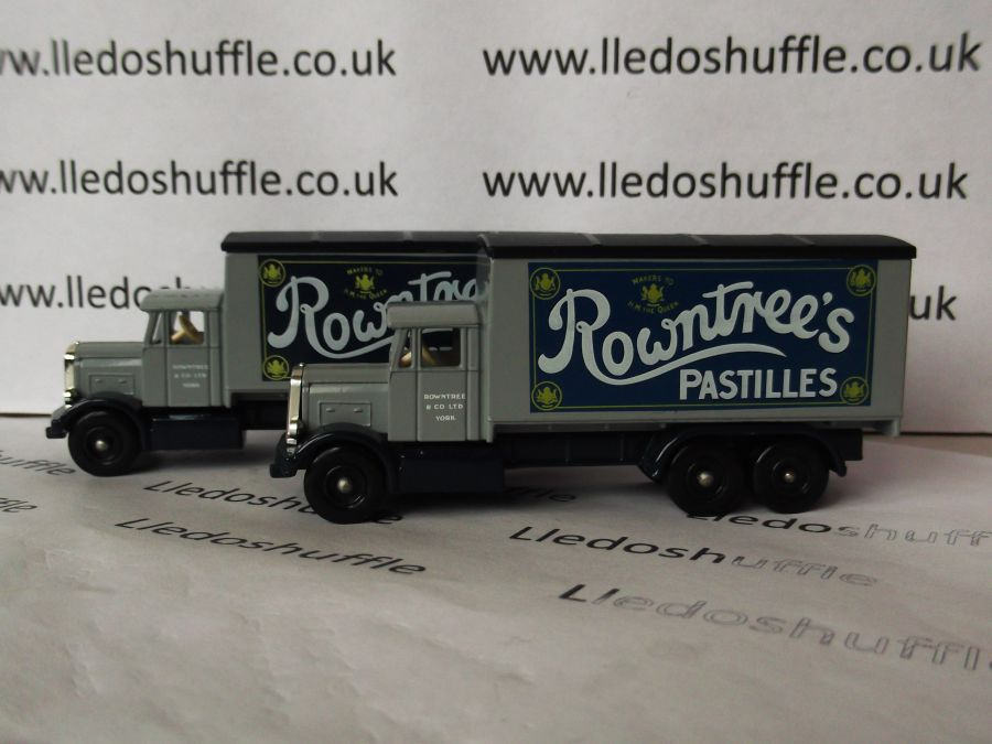 DG44005, Scammell 6w Truck, Rowntrees Pastilles