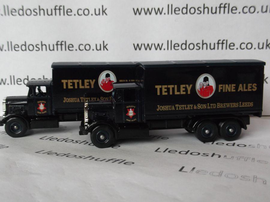 DG44010, Scammell 6w Truck, Tetley Fine Ales